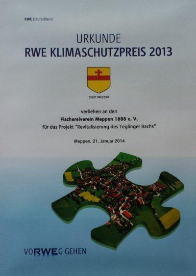 KLimaschutzpreis 2014 FV-Meppen
